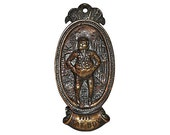 The Fat Boy Door Knocker from Britain 1920s Wonderfully Plump and Sweet