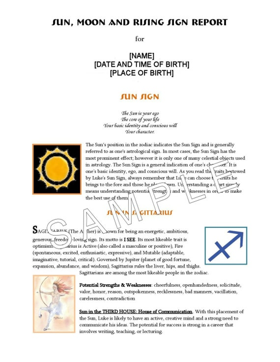 Birth Chart Rising Sign Rebellions