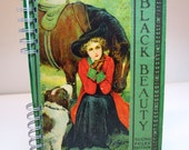 Black Beauty Vintage Turn of the Century book turned Journal One-of-a-kind ON SALE