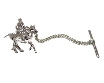 Polo Player Tie Tack