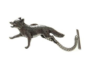 Running Fox Tie Tack