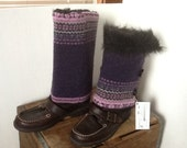 Repurposed Sweater, Boot Huggers,Boot Wraps, Boot Sweater