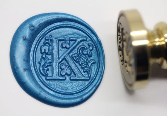 letter wax seal s1153 alphabet letter k wax seal stamp sealing 23296