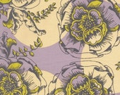 HUGE SALE-1 yard Fabric-Haven's Edge-Vintage in Celery  by Tina Givens for FreeSpirit Fabrics
