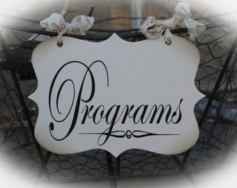 DIY Programs Basket Sign