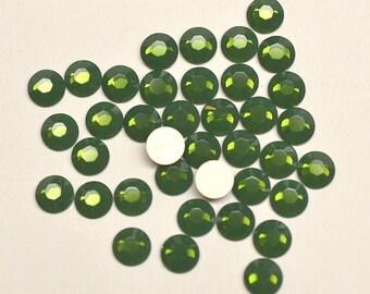 36 Palace Green Opal 20ss Swarovski Flat back Rhinestones-Loose Rhinestones-Bulk Rhinestones-Wholesale Rhinestones-Loose Crystals
