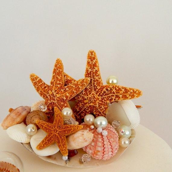 Sugar Starfish Cake Topper