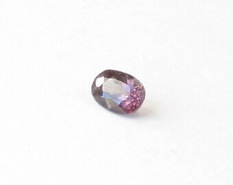 Natural Purple Spinel, Unheated, Oval Cut, 0.92 carat