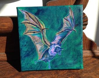 Bat Taking Flight by Robin McCahill