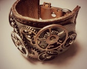 Steampunk Cuff Bracelet - Hugo 002
