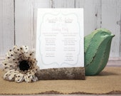 Mint and Tan Wedding Cere...