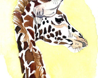 ACEO Limited Edition - A giraffe