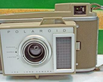 Vintage Polaroid Land Photographers Retro Style Camera