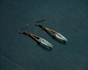 TRIER Earrings - Glass Shard Earrings