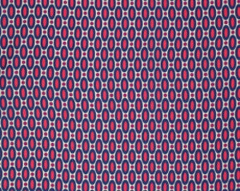 Joel Dewberry Fabric - 1 Metre FLORA, Abacus in Orchid