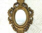 Vintage Mirror_Burwood_Framed Small_Hollywood