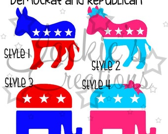 Political Party Decals
