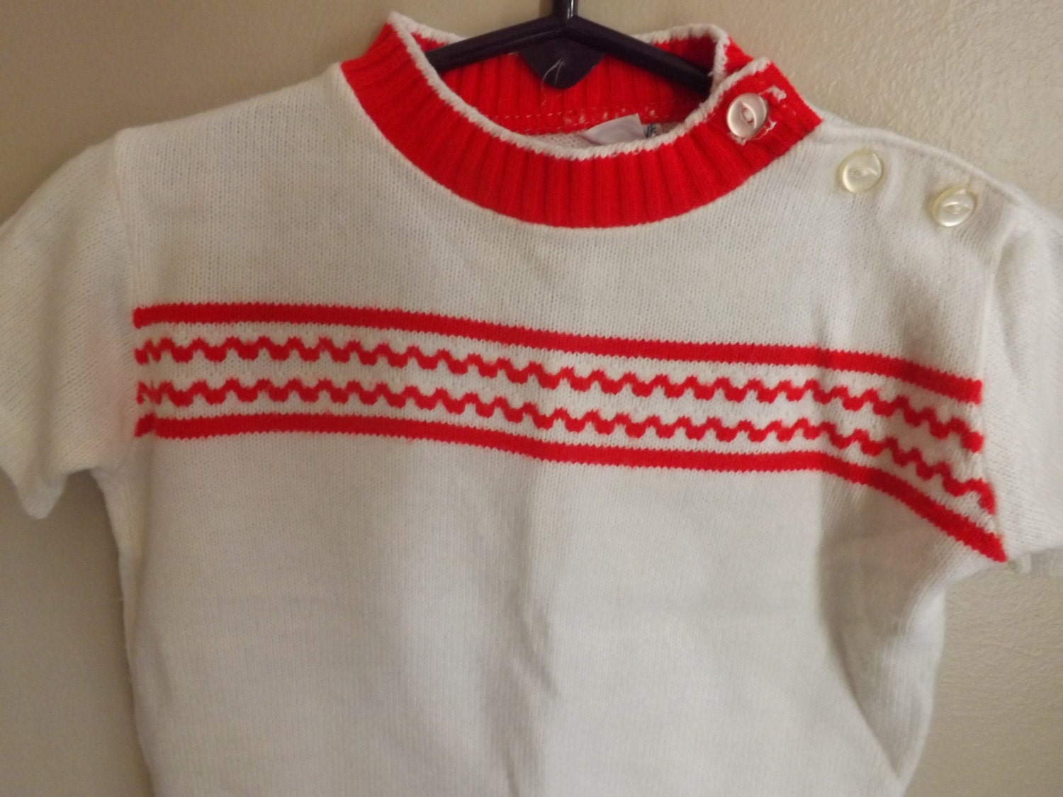 Valentines Day 1950s Baby Clothes Vintage by