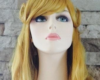 Princess Aurora // Full Synthetic Wig