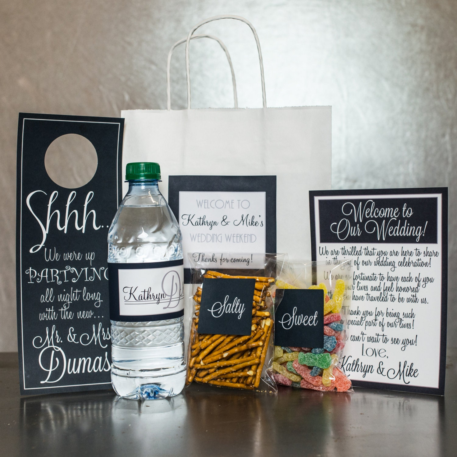 Wedding Gift Bag Suggestions : Wedding Welcome Bag Welcome Bag Welcome Gift Out by modernsoiree