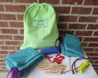 Build a Fort Bag Personalized Fort Building Kit