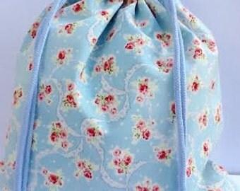 100% Handmade Draw String Bag.For Bento and More