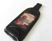 Melted Bottle - Zombie Zin Wine Label