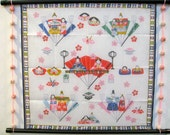 Wall Hanging,the Doll's Festival of Japan,