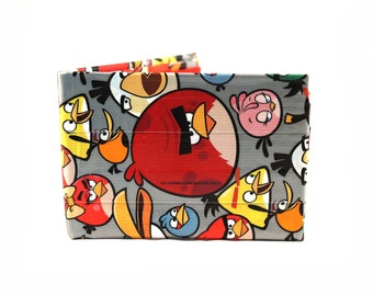 Angry Birds Duct Tape Wallet