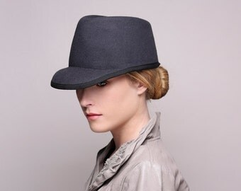 Autumn Winter cap Mens winter black / felt cap / basseball cap / mens hat / mens cap / free delivery worldwide