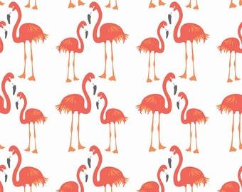 Fat Quarter Lula Magnolia Flamingoes Quilting Fabric Riley Blake