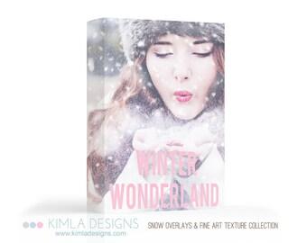 Winter Wonderland Collection of Textures & Snow Overlays
