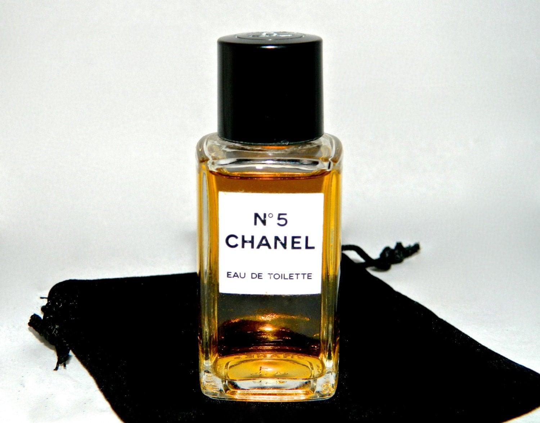 vintage chanel no 5 perfume eau de toilette 1 oz perfect. Black Bedroom Furniture Sets. Home Design Ideas