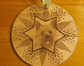 X-mas Breed ornament