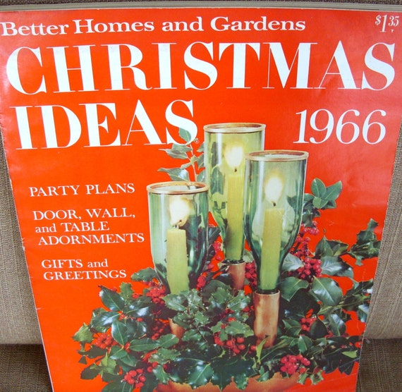 Items similar to better homes and garden christmas ideas magazine 1966 on etsy 7 better homes and gardens