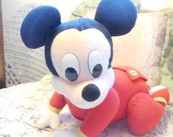 Crawling Baby Mickey Mouse Works