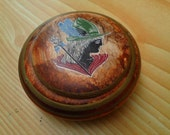 Greek Ancient Mystery Homemade Solid Perfume in ceramic.