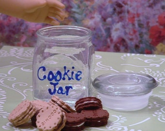 Cookie Jar with 8 sandwich cookies for American Girl