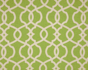"Green Decorative Pillow Covers -Green Trellis Pillow ..16"",17"",18"",20"" 24"" 26"", Lumbar Pillow or Euro Sham"