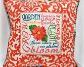How Your Garden Grow Pillow Cover