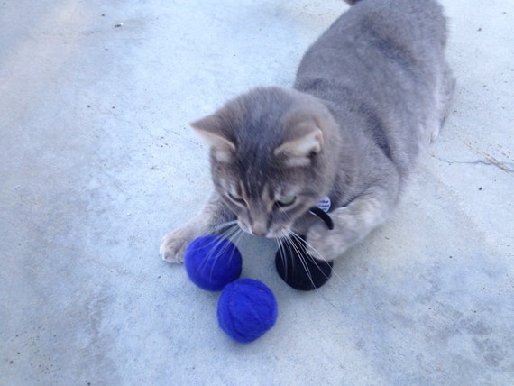 wool cat ball toys