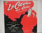 La Cage Aux Folles - The Broadway Musical - Original Cast Recording RCA Red Seal 1983 - Vintage Gatefold VInyl LP Record Album