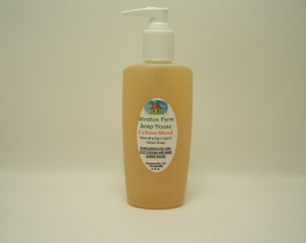Price drop))  (stock up now.) 8 fl oz. of powerful but gentle liquid hand soap that is NON-DRYING, and has a wonderful Citrus scent.