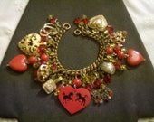Romancing The West OOAK Charm Bracelet by Kay Creatives