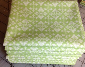 Tanya Whelan - Darla Ditty - Fat Quarter cut in Green TW16 - 100% cotton