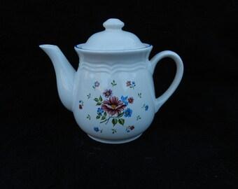 Teapot: Ceramic Hand Decorated