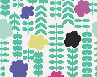 SALE--Geometric Bliss--Poppie Coordinates Jade--Jeni Baker--Art Gallery Fabrics--100% premium cotton--price is per yard