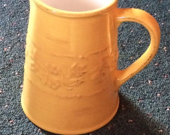 Yellow Vintage Pitcher