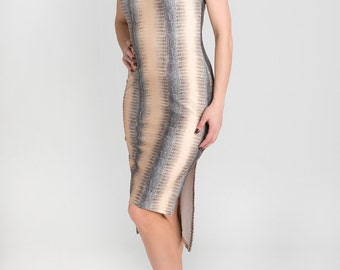 "Tango Tube Dress with side slits - ""Perfect me"""