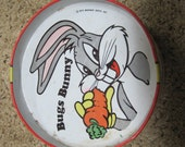 Vintage Bugs Bunny toy drum, decor item, toy